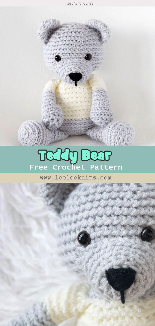 Crochet Teddy Bear – Free Pattern