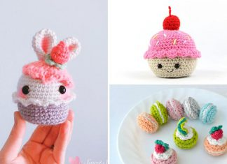 The 3 Cupcake Amigurumi Free Crochet Pattern