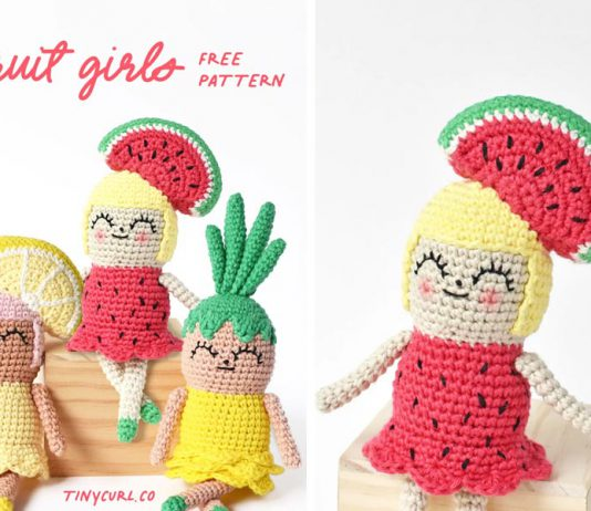 Amigurumi Fruit Girls Free Crochet Pattern