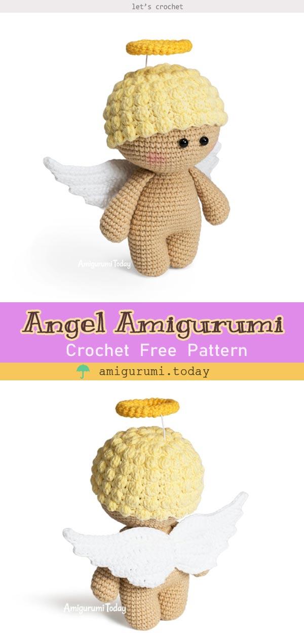 Angel Amigurumi Crochet Free Pattern
