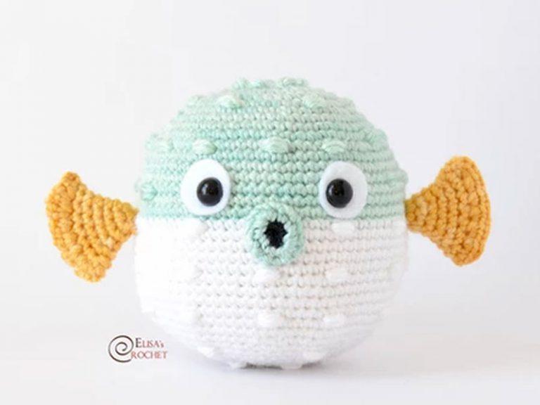 Carrie the Blowfish Free Crochet Pattern
